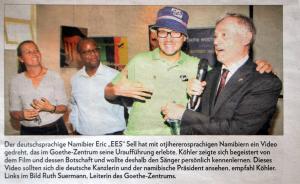 Copyright: Allgemeine Zeitung, Namibia - Media Holdings Pty Ltd.